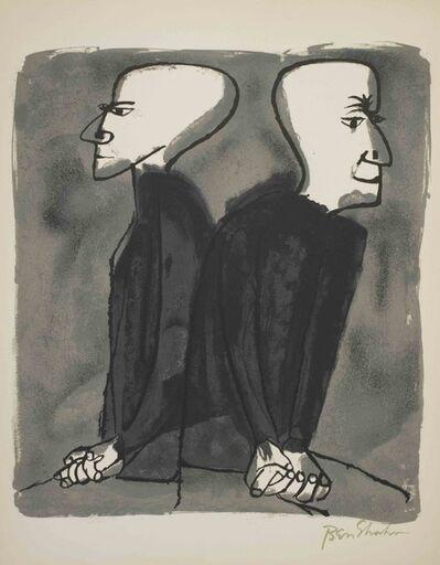 Ben Shahn, 'Partings Long Seen Coming', 1968