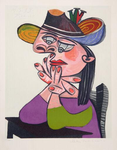Pablo Picasso, 'Buste de Femme Assise, Les Mains Sous le Menton', 1973