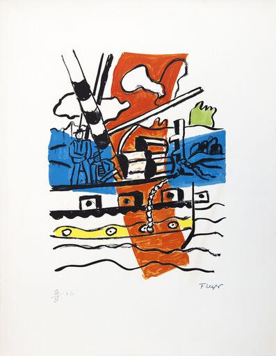 Fernand Léger, 'Le Remorqueur', 1959