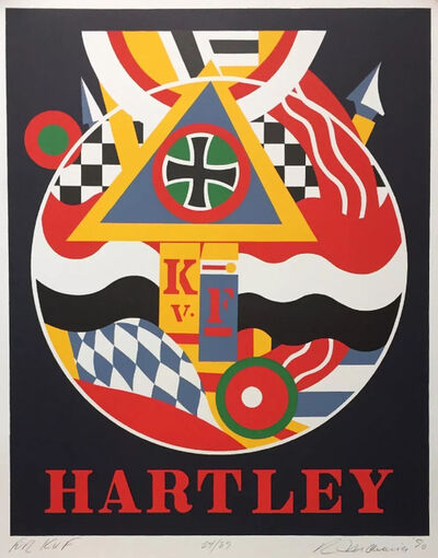 Robert Indiana, 'Fur K.v.F. (Hartley)', 1990