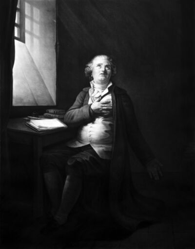 Kepa Garraza, 'Louis XVI, King of France, writing his testament', 2019