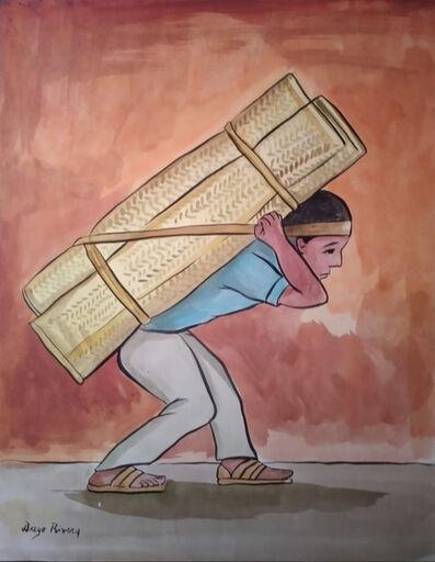 Diego Rivera, 'Cargador de Petates', 20th Century