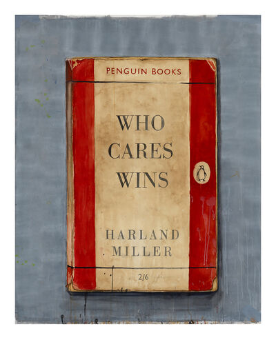 Harland Miller, 'Who Cares Wins (edition of 50 size 64x50 cm)', 2014