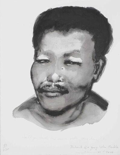 Marlene Dumas, 'Portrait of a Young Nelson Mandela', 2008