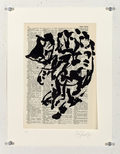 William Kentridge, 'Universal Archive (Ref. 17)', 2012