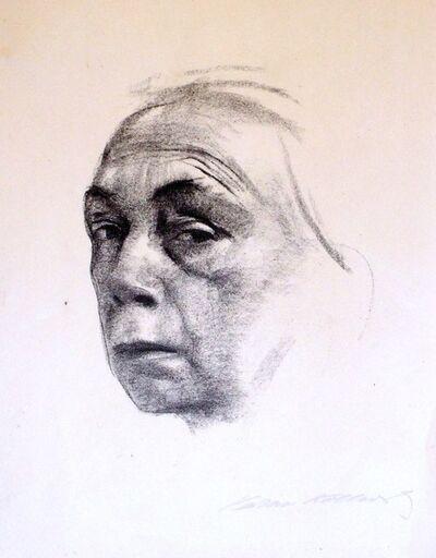 Käthe Kollwitz, 'Self-Portrait ', 1924