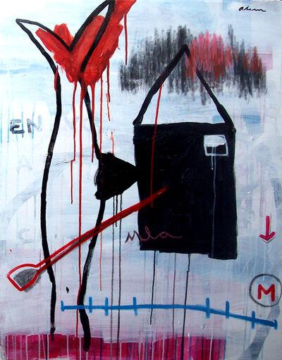 Alain Jiménez Santana, 'Black, Black, Black, No. 1 (La Duda)', 2019