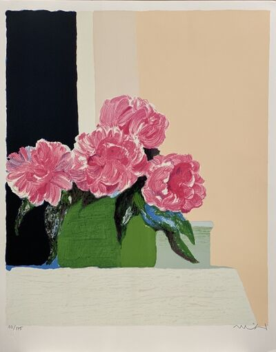 Roger Muhl, 'Pivoines', 1989