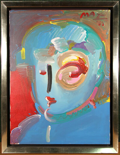Peter Max, 'Zero in Blue', 1985
