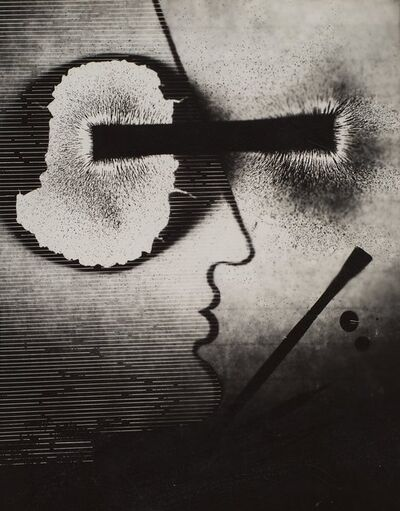 Gyorgy Kepes, 'Untitled (Magnetic fields, compass, dark)', 1939