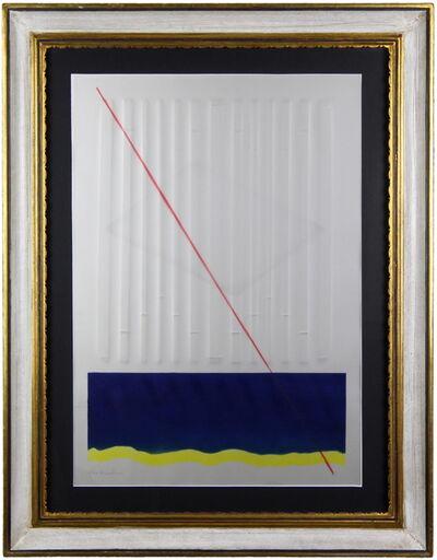 Agostino Bonalumi, 'Red line', ca. 1980