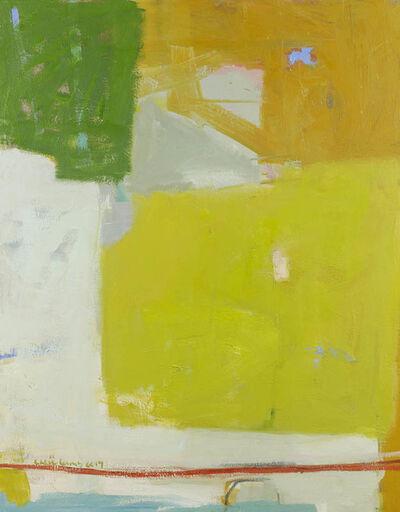 Chloe Lamb, 'Greens and Yellows', 2017