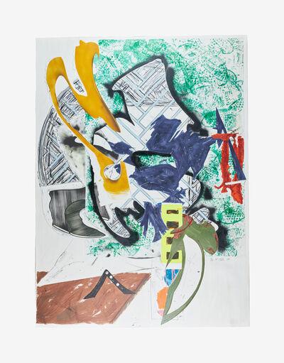 Frank Stella, 'Ahab's Leg', 1989