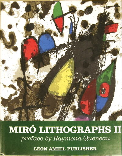 Joan Miró, 'Miro Lithographs, Vol 2 1953-1963', 1975