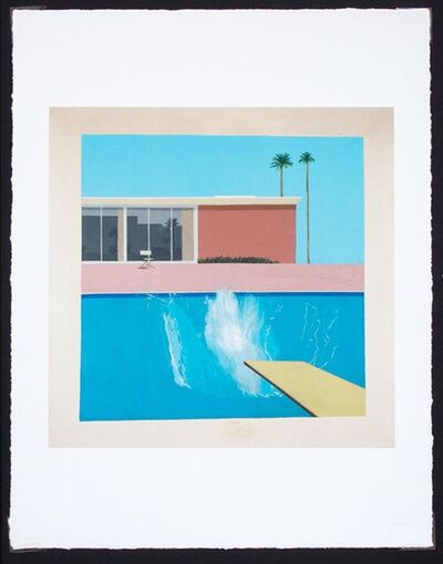David Hockney, 'A Bigger Splash', 2017