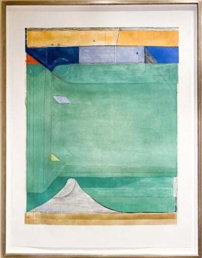 Richard Diebenkorn, 'Green', 1986