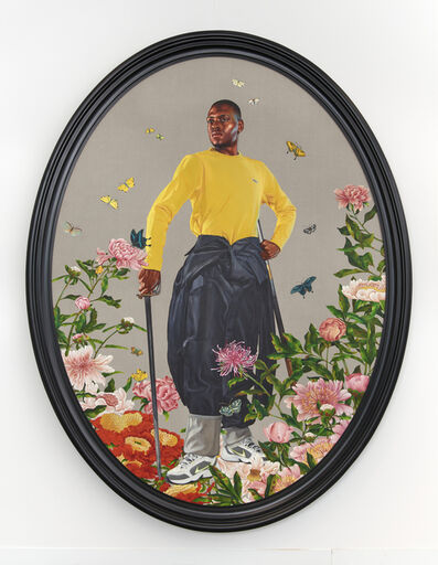 Kehinde Wiley, 'Portrait of Prince Anthony Hall', 2020