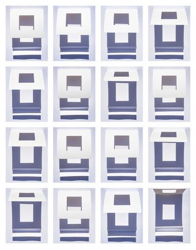 Brenda Biondo, 'Rayleigh Wind Variation Grid', 2020