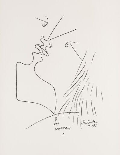 Jean Cocteau, 'Les Amoreux', 1957