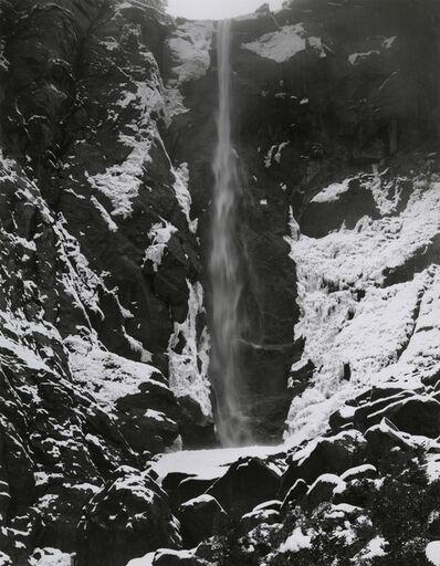 Paul Caponigro, 'Bridalveil Falls, Yosemite', 1974