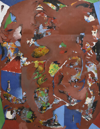 Carlos Villa, 'Untitled (Painting with Collage and Bones)', 1981-1985