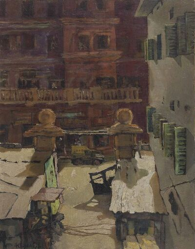 Bikash Bhattacharjee, 'Untitled', 1961