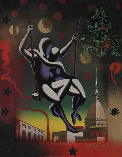 Mark Kostabi, 'Time Suspended ', 2017