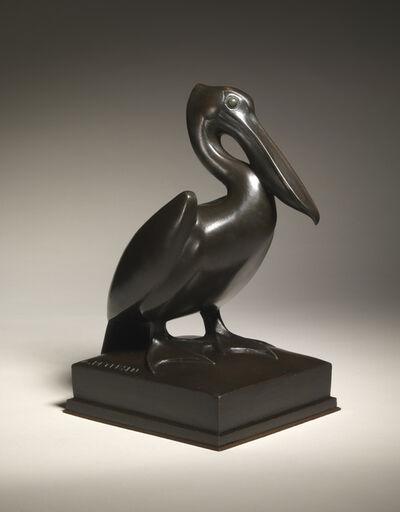 Armand Petersen, 'Pelican with straight beak,', 1954