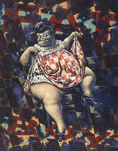 Todd Schorr, 'Fat Boy', 1989