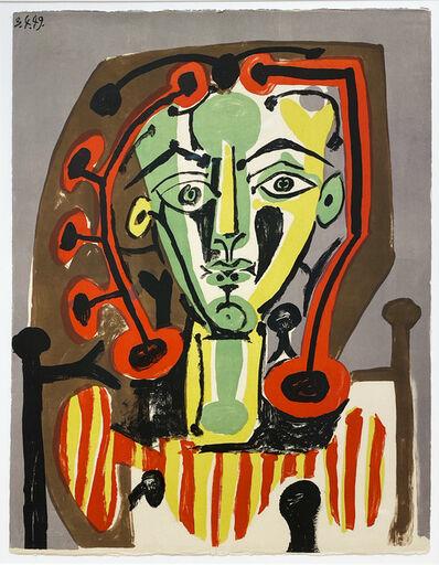 Pablo Picasso, 'Figure au corsage rayé', 1949