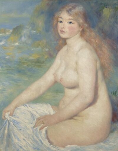 Pierre-Auguste Renoir, 'Blonde Bather', 1881