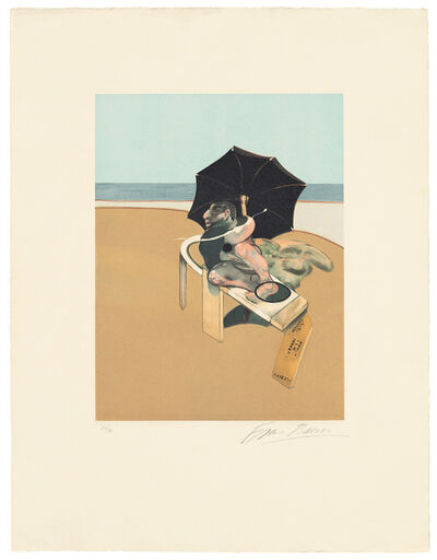 Francis Bacon, 'Right Panel from Triptych', 1981