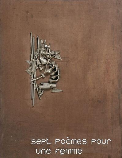 Albert Feraud, 'Sept Poémes Pour Une Femme', 1973