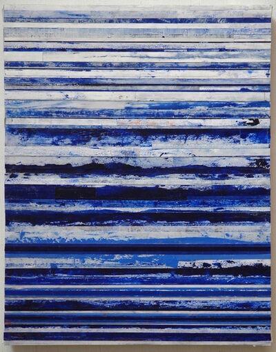 Robert Stuart, 'Blue & White Bands', 2017