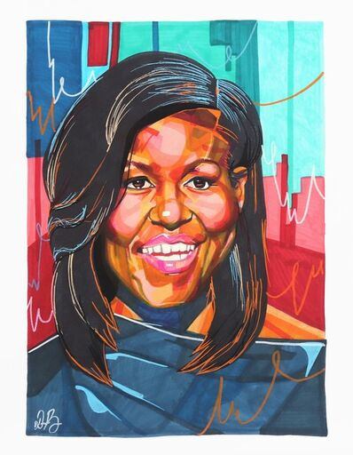 Domonique Brown, 'Michelle Obama', 2019