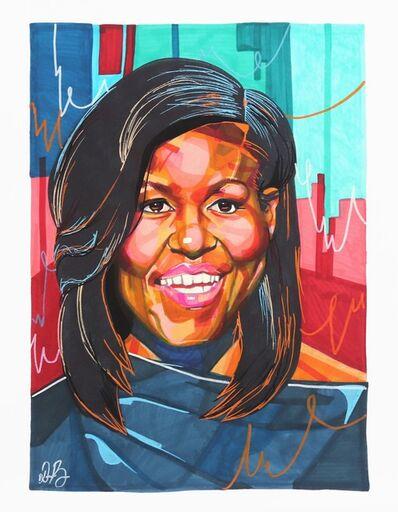 Domonique Brown, 'Michelle Obama', 2019