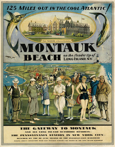 Anonymous, 'MONTAUK BEACH - LONG ISLAND SEASHORE RESORTS - GOLF - FISH - SWIM - TENNIS', 1929