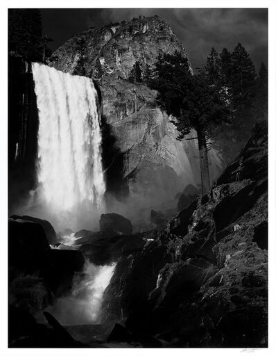 Ansel Adams, 'Vernal Fall, Yosemite National Park, California', 1948