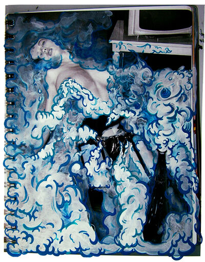Yi-Hsin Tzeng, 'Blue Bubble Girl', 2011