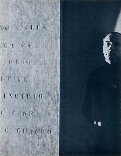 Vincenzo Agnetti, 'Vincenzo Agnetti, Ritratti e paesaggi', 1971