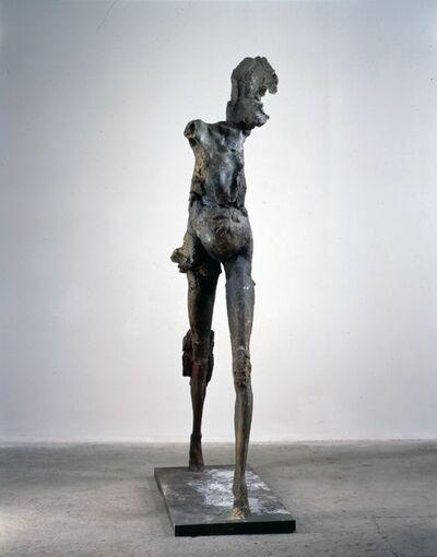 Stephen De Staebler, 'Winged Woman Walking V, A/P 1', 1990