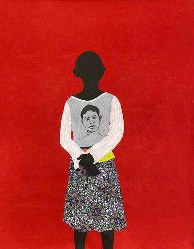 """Raphael Adjetey Mayne, '""""Untitled (Portrait)""""', 2021"""