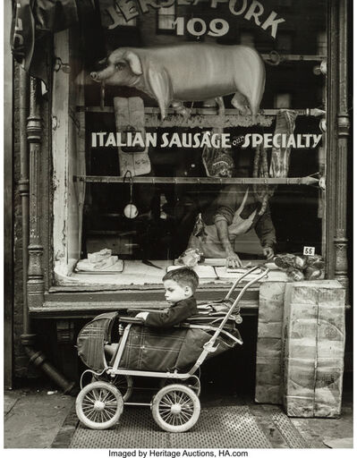 Martin Elkort, 'The Patient Child, Lower East Side--Manhattan, New York City', 1951