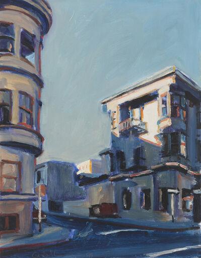 Suong Yangchareon, 'San Francisco street corner', 1991
