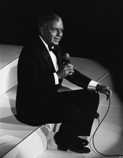 Ron Galella, 'Frank Sinatra at a charity concert at the Waldorf Astoria, New York', 1983