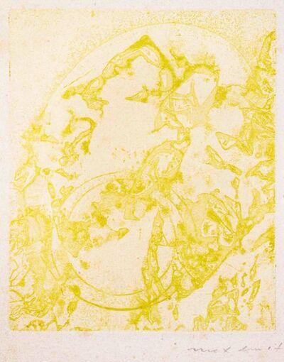 Max Ernst, 'Hölderlin: Poèmes', 1961