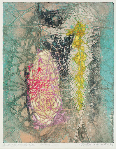 Krishna Reddy, 'Two forms in one', 1954