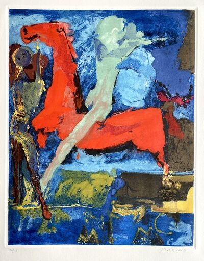 Marino Marini, 'Shakespeare I, Sheet VI', 1977