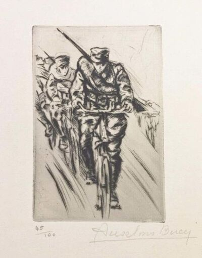 Anselmo Bucci, 'Vite...', 1917