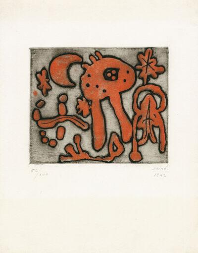 "Joan Miró, 'from ""The prints of Joan Miró"" (Michel Leiris)', 1947"
